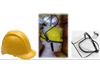 Safety Helmets and Face Shields