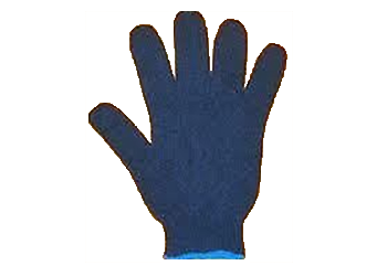 KNITTED COTTON HAND GLOVES